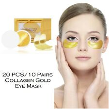 10 Pairs Gel Eye Mask Crystal Collagen Gold Anti Wrinkle Removes Stress Eye Bags