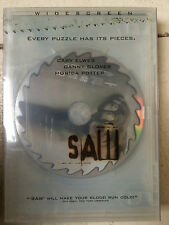 Shawnee Smith Tobin Bell SAW ~ 2004 Horror ~ Edición Limitada EEUU DVD con funda