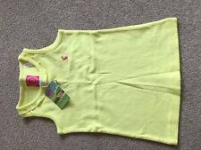 Girls Age 4 Yellow Joules Tank Top, New With Tags