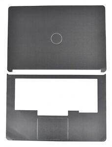 Dell Latitude E7470 Black Vinyl Laptop Skin Cover Decal for Lid + Palmrest