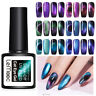 LEMOOC 8ml 5D Magnetic Gel Polish Chameleon Black Base Soak Off UV Gel Varnish