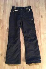 Orage Women's XS BLACK Ski Snowboard Pants NWOT Crystal Bling Buttons