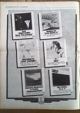 MIKE OLDFIELD U2 JAPAN albums 1980 Dutch Poster size Press ADVERT 16x12 inches
