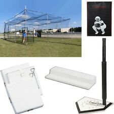 32x32x12 Diamond Deluxe Bundle w/ Bases, Pitchers Rubber, Batting Tee, and VBS!