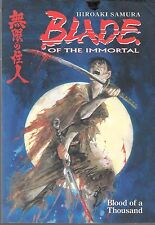 BLADE OF THE IMMORTAL BLOOD OF A THOUSAND GRAPHIC NOVEL / TP (FN)