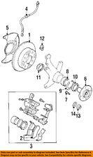 GM OEM Front Brake-Flex Hose 96066560