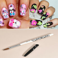 1PC No.10 Detachable Nail Art Acrylic Kolinsky Sable Brush Nail Art Brushes Pen