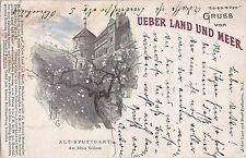 I 89-ALT-Stoccarda al vecchio castello lito-via terra e, 1899 GLF.