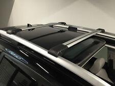 VW TOURAN 2003-2010 ANTI THEFT ALUMINIUM CROSS BAR RACK 75 KG LOADING GREY