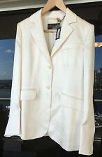 Loro Piana Ladies Blazer Deneu Royal Silk & Silk Lining size 42 Retail $3695.00