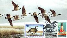 #RW64 Canada Goose S & T FDC (1551997RW64001)