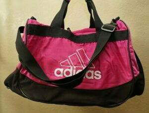 Adidas pink athletic gym or travel bag for girls see pictures