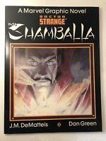 Marvel Graphic Novel #23 Doctor Strange: Into Shamballa Marvel 1986 Unread TPB