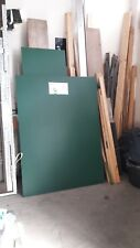 Reststück Trespa 8mm stark, Farbe dunkelgrün. 1130mm x 1530mm
