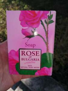 ROSE OF BULGARIA Women Natural Soap by BioFresh 100g with Rose and Coconut Oil