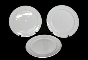 Pottery Barn Portugal Cambria Stone Lot of 3 Dinner Plates 10.75""