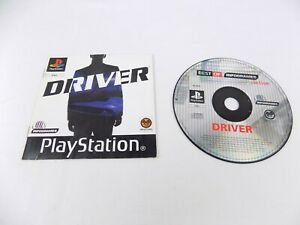 Mint Disc Playstation 1 Ps1 Driver 1 I First Game + Manual Free Postage