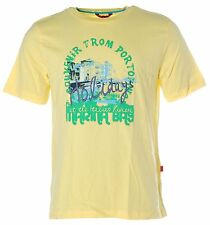 X2749 Signum Herren Kurzarm Shirt T-Shirt Rundhals Portofino Holidays Yellow L