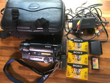Sony Handycam CCD-TR87 8mm Video8 HI8 XR Camcorder VCR Player Video Transfer