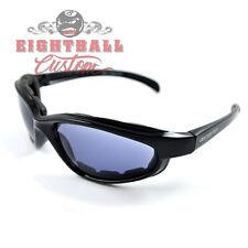 Bobster Fat Boy Motorradbrille Biker Brille für Harley Fahrer  selbsttönend No1