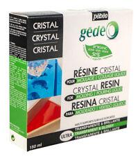 Pebeo Gedeo Bio Organique Base Cristal Résine Kits 150ml, 300ml ou 750ml
