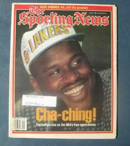 Shaquille O'Neal--Los Angeles Lakers--1996 Sporting News