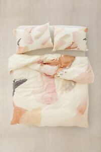 New UO DENY Georgiana Paraschiv For Deny Abstract M3 Duvet Cover Queen MSRP $149
