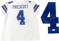 Dak Prescott Autographed Dallas Cowboys Authentic Jersey (JSA)