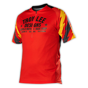 BRAND NEW TRD TROY LEE DESIGNS ACE JERSEY MTB 50+ UPF material SMALL Medium L