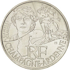[#504079] France, 10 Euro Champagne-Ardennes, 2012, SPL+, Argent, KM:1869
