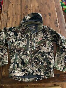 Sitka Gear Cloudburst Jacket, Men's L, Optifade Subalpine Pattern GORE-TEX
