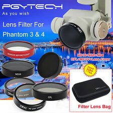 Brand PGY ND4+ND8+ND16+MCUV+CPL filter+Lens Filter Cover for DJI phantom 4 3 X1