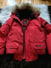 Canada Goose Men Sz M Jacket Red Expedition 1st Edition Authentic Chilliwack