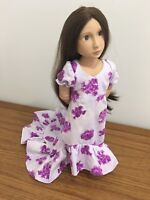 "Fits 16"" Sasha Doll or A Girl For All Time Doll Clothes Hawaiian Floral Dress"