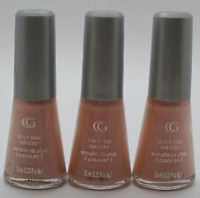 3PK CoverGirl 3-in-1 step Nail Color Q035 ROSE PETALS 10mL