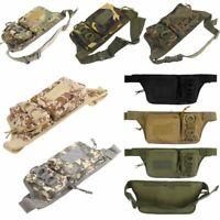 Men Waterproof Outdoor Fanny Waist Pack Military Tactical Pouch Sport Waist Bag