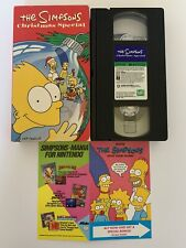 The Simpsons Christmas Special (VHS, 1991) - Tested and Works Great