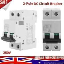 63AMP DC Breaker 250V Circuit Breaker 2P 2 Pole 63 amp- Solar Isolator C65H-DC #