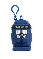 Doctor Who Mini talking Blue TARDIS Plush clip on, 3+, BBC, Stuffed Animal