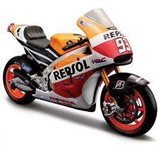 Collectable Maisto Honda RC213V Honda Racing Team #93 Marc Marquez 1:10 Diecast