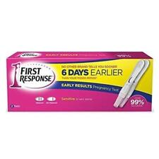FIRST RESPONSE EARLY RESULT PREGNANCY TEST 2 TESTS BRAND NEW