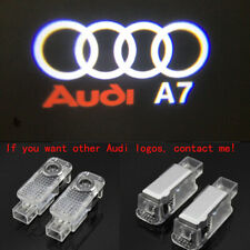 2X HD LED Car Door Light Logo Courtesy Projector Ghost Laser Light For Audi A7