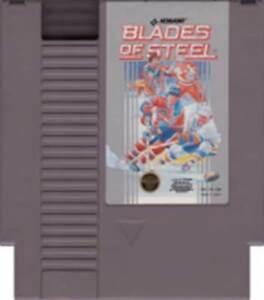 Blades Of Steel - NES Nintendo Hockey Game