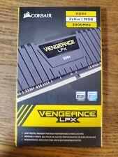 Corsair Vengeance LPX 2x8GB 16GB 3000MHz DDR4 Desktop RAM CMK16GX4M2B3000C15 NEW