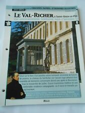 Castle Château Le Val Richer à Saint Ouen le Pin France Fiche