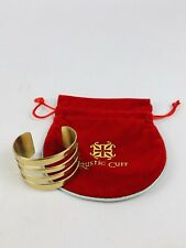 Rustic Cuff Judy Bracelet Gold Tone With RC Bag