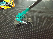 N Scale Tomytec Panther X250 Heavy Crane Construction Equipment Blue-Green