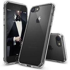 Transparente Claro silicona fino Funda Gel y pantalla para iPhone SE 6s 5s 7