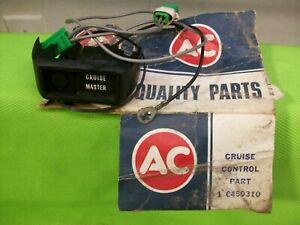 NOS GM AC Chevrolet Cruise Control Switch 6499310