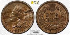 1863 1C PCGS MS62 Indian Mint Error Defective Planchet - RicksCafeAmerican.com